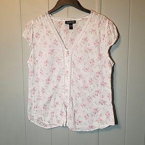 Lauren Ralph Lauren floral top